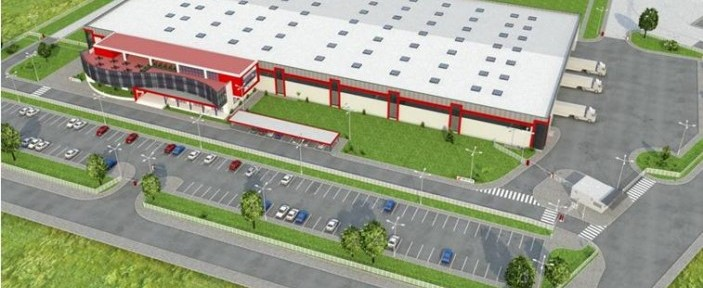 A vision for cars spare parts factory for Witte company